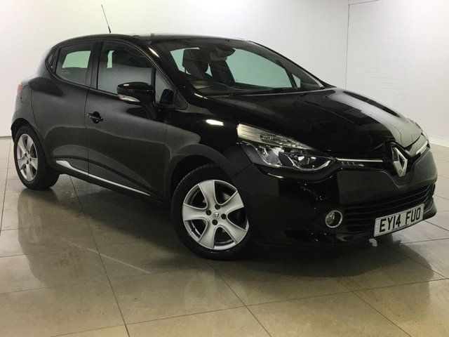 View our 2014 14 RENAULT CLIO 1.5 DYNAMIQUE MEDIANAV ENERGY DCI S/S 5d 90 BHP