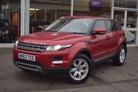 USED 2012 62 LAND ROVER RANGE ROVER EVOQUE 2.2 SD4 PURE TECH 5d AUTO 190 BHP