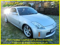 USED 2008 NISSAN 350 Z 3.5 V6 GT 2d 309 BHP +NAV+HEATED LEATHER+FSH+