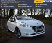 USED 2014 64 PEUGEOT 208 1.6 THP GTI 3d 200 BHP 26,679 MILES, FULL SERVICE HISTORY, HALF LEATHER, CRUISE CONTROL, BLUETOOTH CONNECTIVITY, DUAL ZONE CLIMATE CONTROL, + MUCH MORE!