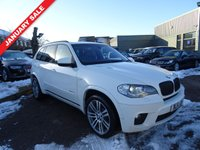 USED 2011 11 BMW X5 3.0 XDRIVE40D M SPORT 5d AUTO 302 BHP With 1 previous keeper and an MOTit also comes with x2 keys and a service book with 5 stamps. BMW stamps @ 15510, 30002, 36018 & 54674 with the last service done at an independant garage @ 69818 miles.