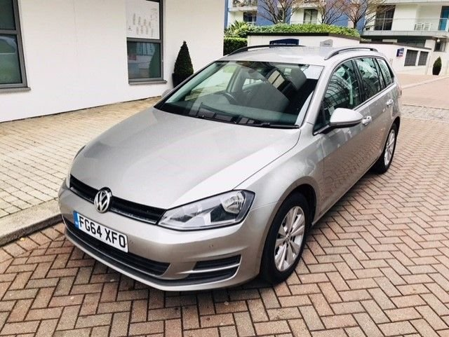 2014 64 VOLKSWAGEN GOLF 1.6 SE TDI BLUEMOTION TECHNOLOGY 5d 103 BHP