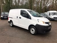 USED 2013 62 NISSAN NV200 1.5 SE DCI - CHOICE IN STOCK - FROM £5495 + VAT Choice Available - One Owner - 2012/62 & 2013/62 Plates