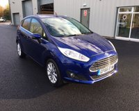 USED 2016 66 FORD FIESTA 1.0 TITANIUM ECOBOOST (100PS) THIS VEHICLE IS AT SITE 1 - TO VIEW CALL US ON 01903 892224