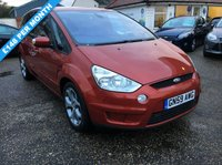 USED 2009 59 FORD S-MAX 2.0 TITANIUM TDCI 5d 143 BHP FULL SERVICE HISTORY X 8 SERVICE STAMPS 6 BY FORD