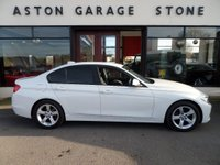 USED 2012 12 BMW 3 SERIES 2.0 320D SE 4d AUTO 182 BHP **1 OWNER * LEATHER * PADDLES** ** 1 OWNER * HEATED LEATHER **