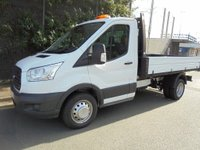 USED 2015 15 FORD TRANSIT 350 MWB S/Cab Tipper 124PS