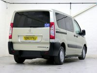 USED 2013 63 PEUGEOT EXPERT TEPEE 2.0 COMFORT L1 HDI 5d AUTO 163 BHP [5 SEATS + WHEELCHAIR] 5 SEATS+WC•LOW-FLOOR•AC•CRUISE...
