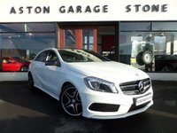 USED 2013 63 MERCEDES-BENZ A CLASS 2.0 A250 BLUEEFFICIENCY AMG SPORT 5d AUTO 211 BHP **PAN ROOF * F/M/S/H** ** FMSH * SAT NAV * PAN ROOF **