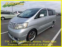 2002 TOYOTA ALPHARD 2.4 AS Auto 8 Seater, Reverse camera, XENON, Power slide door £6000.00