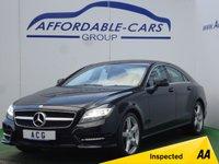 2012 MERCEDES-BENZ CLS 3.0 CLS350 CDI SPORT AMG 4d AUTO 265 BHP £16450.00