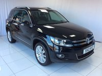 2012 VOLKSWAGEN TIGUAN 2.0 SPORT TDI BLUEMOTION TECHNOLOGY 4MOTION 5d 138 BHP £10500.00