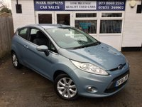 USED 2009 58 FORD FIESTA 1.2 ZETEC 3d 81 BHP 35K FSH 2 OWNERS EXC FUEL ECONOMY LOW INSURANCE  EXC CONDITION