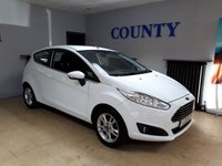 USED 2014 64 FORD FIESTA 1.2 ZETEC 3d 81 BHP * ONE OWNER WITH HISTORY *