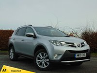 USED 2013 13 TOYOTA RAV4 2.2 D-4D INVINCIBLE 5d AUTOMATIC * 128 POINT AA INSPECTED *