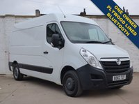 USED 2012 62 VAUXHALL MOVANO 2.3 F3500 L2H2 CDTI 1d 123 BHP One Owner Bluetooth Ply Lined 0% Deposit Finance Available