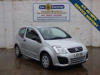 USED 2009 59 CITROEN C2 1.1 VTR 3d 60 BHP Air Con Low Insurance 48+MPG 0% Deposit Finance Available