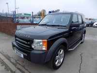 USED 2006 LAND ROVER DISCOVERY 2.7 3 TDV6 7 SEATS 5d AUTO 188 BHP