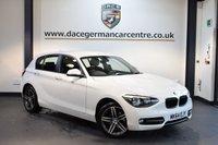 USED 2015 64 BMW 1 SERIES 2.0 116D SPORT 5DR + BLUETOOTH + DAB RADIO + RAIN SENSORS + SPORT SEATS + 17 INCH ALLOY WHEELS +