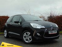 USED 2014 64 CITROEN DS3 1.2 PURETECH DSIGN PLUS 3d * 128 POINT AA INSPECTED *