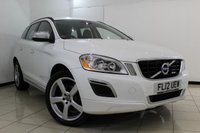 USED 2012 12 VOLVO XC60 2.4 D5 R-DESIGN AWD 5DR AUTOMATIC 212 BHP SERVICE HISTORY + HEATED LEATHER SEATS + SAT NAVIGATION + BLUETOOTH + PARKING SENSOR + WINTER PACK + CRUISE + MULTI FUNCTION WHEEL + CLIMATE CONTROL + 18 INCH ALLOY WHEELS