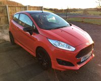 USED 2015 65 FORD FIESTA 1.0 ZETEC S RED EDITION 3d 139 BHP ONE OWNER CAR WITH A FULL SERVICE HISTORY
