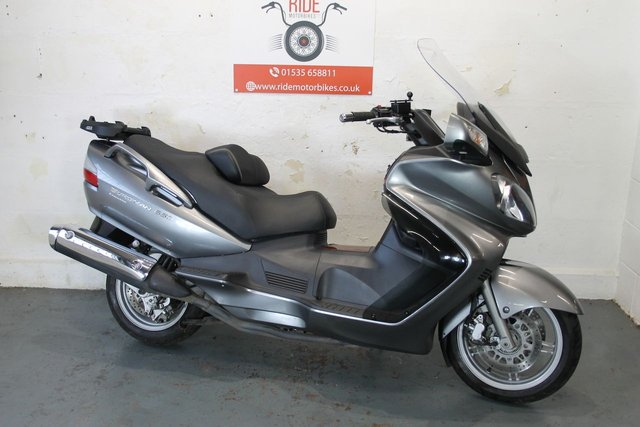 2011 11 SUZUKI AN 650 BURGMAN Executive