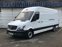 2014 MERCEDES-BENZ SPRINTER 313 CDI LWB Hi Roof 2.1 130 BHP 2013 (63) Plate New Model £8950.00