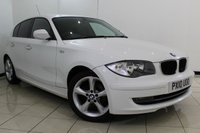 USED 2010 10 BMW 1 SERIES 2.0 116D SPORT 5DR 114 BHP FULL SERVICE HISTORY + AIR CONDITIONING + ELECTRIC MIRRORS + MULTI FUNCTION WHEEL + 17 INCH ALLOY WHEELS