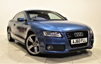 USED 2011 60 AUDI A5 3.0 TDI QUATTRO S LINE SPECIAL EDITION 2d AUTO 240 BHP + 1 PREV OWNER +  SERVICE HISTORY + AIR CON + AUX + LEATHER SEATS