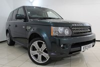 USED 2013 13 LAND ROVER RANGE ROVER SPORT 3.0 SDV6 HSE BLACK 5DR AUTOMATIC 255 BHP LAND ROVER SERVICE HISTORY + HEATED LEATHER SEATS + SAT NAVIGATION + PARKING SENSOR + BLUETOOTH + CRUISE CONTROL + MULTI FUNCTION WHEEL + 20 INCH ALLOY WHEELS