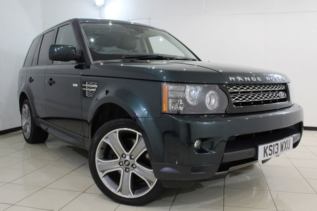 View our 2013 13 LAND ROVER RANGE ROVER SPORT 3.0 SDV6 HSE BLACK EDITION 5DR AUTOMATIC 255 BHP
