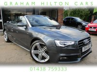 "USED 2014 14 AUDI A5 2.0 TDI S LINE SPECIAL EDITION 2d 175 BHP FULL LEATHER, 19"" ALLOYS, 2 OWNERS, PARKING SENSORS, CLIMATE CONTROL, FULL SERVICE HISTORY, SPARE KEY"
