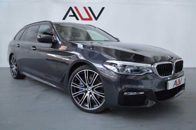 2017 17 BMW 5 SERIES 3.0 530D XDRIVE M SPORT TOURING 5d AUTO 261 BHP