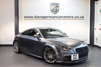 USED 2011 11 AUDI TT 2.0 TDI QUATTRO S LINE BLACK EDITION 2DR + FULL BLACK LEATHER INTERIOR + FULL SERVICE HISTORY + BLUETOOTH + SPORT SEATS + CRUISE CONTROL + BOSE SPEAKERS + AUXILIARY PORT + HEATED MIRRORS + PARKING SENSORS + 19 INCH ALLOY WHEELS +