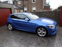 USED 2014 14 BMW 1 SERIES 2.0 120D M SPORT 3d 181 BHP 1 OWNER. £30 ROAD TAX. FULL BMW HISTORY. EXTRAS.