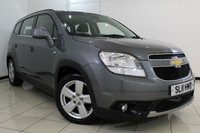 USED 2011 11 CHEVROLET ORLANDO 1.8 LTZ 5DR 141 BHP SERVICE HISTORY + 7 SEATS + PARKING SENSOR + CRUISE CONTROL + MULTI FUNCTION WHEEL + AIR CONDITIONING + 17 INCH ALLOY WHEELS