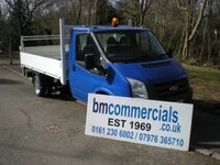 2012 FORD TRANSIT 2.2 350 DRW 1d 99 BHP PICKUP/DROPSIDE WITH TAILIFT £7490.00