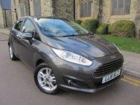 2016 FORD FIESTA 1.6 ZETEC 5d AUTO 104 BHP £9995.00