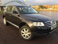 USED 2005 05 VOLKSWAGEN TOUAREG 3.0 V6 TDI SPORT 5d AUTO 221 BHP **PART EXCHANGE TO CLEAR**