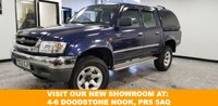 USED 2002 52 TOYOTA HI-LUX 2.5 270 EX DOUBLE CAB 4WD 1d  Plenty of low down grunt. Known for it's reliability. Superb car.