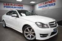 2013 MERCEDES-BENZ C CLASS 2.1 C220 CDI BLUEEFFICIENCY AMG SPORT 2d AUTO 170 BHP £14999.00