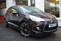 USED 2014 64 CITROEN DS3 1.6 E-HDI DSTYLE PLUS 3d 90 BHP STUNNING LOW MILEAGE DS3 DIESEL