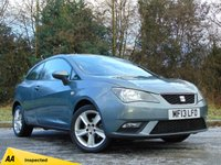 USED 2013 13 SEAT IBIZA 1.4 TOCA 3d * 128 POINT AA INSPECTED *