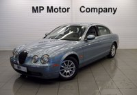 USED 2005 55 JAGUAR S-TYPE 2.5 V6 4d AUTO 201 BHP