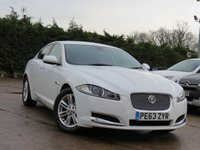 USED 2013 63 JAGUAR XF 3.0 D V6 LUXURY 4d AUTO 240 BHP REVERSING CAMERA, AA DEALER PROMISE, DRIVE AWAY TODAY