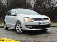 USED 2014 14 VOLKSWAGEN POLO 1.2 MATCH EDITION 3d 59 BHP * 128 POINT AA INSPECTED *