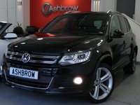 USED 2016 65 VOLKSWAGEN TIGUAN 2.0 TDI R LINE EDITION BLUEMOTION TECH 4MOTION DSG 5d 185 S/S UPGRADE 19 INCH MALLORY ALLOYS, UPGRADE REAR SPOILER, R LINE BODYKIT, DSG AUTO, 4 MOTION 4X4, FULL BLACK LEATHER, HEATED SEATS, ELEC DRIVER'S SEAT, NAV, DAB, FRONT + REAR PARKING SENSORS W/ PARK ASSIST AUTOMATED STEERING, BLUETOOTH W/ AUDIO STREAMING, BI XENONS W/ LED DAYTIME RUNNING LIGHTS + CORNER , AUX + USB IN, DUAL ZONE CLIMATE A/C, LEATHER FLAT BOTTOM MULTI FUNCTION STEERING WHEEL, TYRE PRESSURE MONITORING SYSTEM, AUTO LIGHTS + WIPERS, AUTO DIM REAR VIEW, AUTO HOLD, SP SAVING SPARE, VAT Q