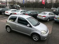 USED 2005 05 TOYOTA YARIS 1.3 COLOUR COLLECTION VVT-I 3d 86 BHP