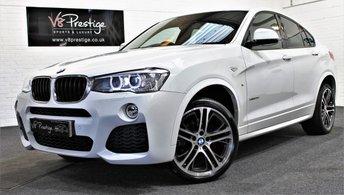 2015 BMW X4 2.0 XDRIVE20D M SPORT 4d AUTO 188 BHP £25955.00